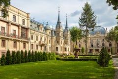 El palacio del ` s de Izrael Poznanski es un palacio del siglo XIX en Lodz, Polonia Foto de archivo libre de regalías