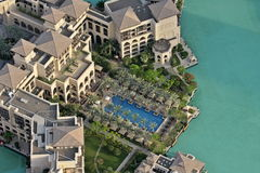 El palacio en Dubai Fotos de archivo libres de regalías