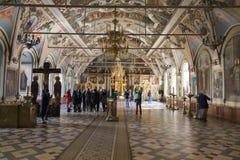 El palacio en la abadía del sergei de Sam, Federación Rusa Foto de archivo libre de regalías