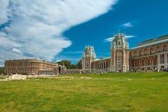 El palacio en Tsaritsino, Moscú, Rusia Fotos de archivo