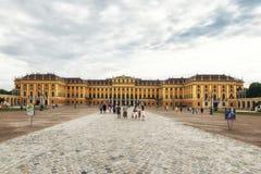 El palacio famoso de Schonbrunn en Viena, Austria Imagen de archivo libre de regalías