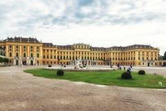El palacio famoso de Schonbrunn en Viena, Austria Imagen de archivo