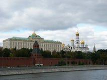 El palacio grande del Kremlin Fotos de archivo libres de regalías