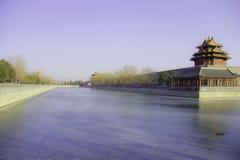 El palacio imperial bajo el cielo azul y ¼ blanco Œ China del cloudsï Foto de archivo