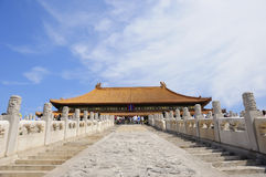 El palacio imperial de Pekín Foto de archivo