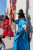El palacio imperial, punto escénico de la Corea del Sur - Gyongbokkung Foto de archivo libre de regalías