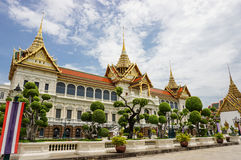 El palacio magnífico Imagen de archivo