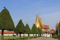 El palacio magnífico, Bangkok, Tailandia Imagen de archivo libre de regalías