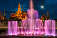 El palacio magnífico de Bangkok los capitales de Tailandia Imagen de archivo libre de regalías