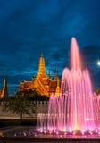 El palacio magnífico de Bangkok los capitales de Tailandia Fotos de archivo libres de regalías