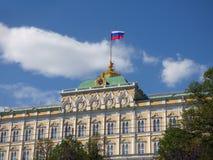 El palacio magnífico del Kremlin Fotos de archivo