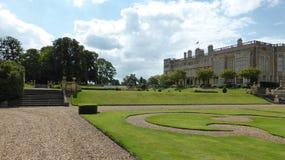 El palacio magnífico en Inglaterra Imagen de archivo libre de regalías
