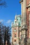 El palacio magnífico. Fragmento. Museo del estado de Tsaritsyno. Fotografía de archivo libre de regalías