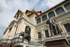 El palacio magnífico real Imagen de archivo