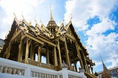 El palacio magnífico Tailandia Foto de archivo