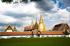 El palacio magnífico Tailandia Fotos de archivo libres de regalías
