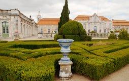 El palacio nacional de Queluz Foto de archivo