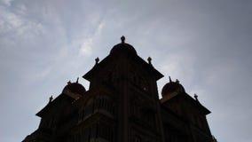 El palacio poderoso de Mysore en Mysore Foto de archivo