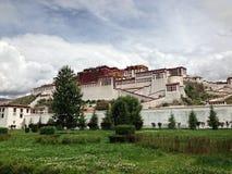 El palacio Potala fotografía de archivo