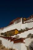 El palacio Potala de Lasa, Tíbet Fotos de archivo libres de regalías