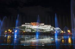 El palacio Potala en Lasa, Tíbet Fotos de archivo