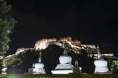 El palacio Potala en Lasa, Tíbet Fotografía de archivo