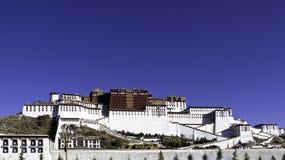 El palacio Potala en Tíbet Fotos de archivo libres de regalías