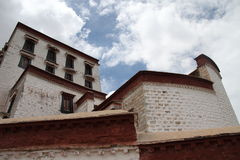 El palacio Potala en Tíbet Fotografía de archivo