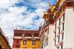 El palacio Potala, Lasa, China Tíbet Foto de archivo