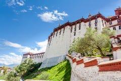 El palacio Potala, Lasa, China Tíbet Fotos de archivo libres de regalías