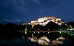 El palacio Potala, Lasa, Tíbet, China Fotografía de archivo libre de regalías
