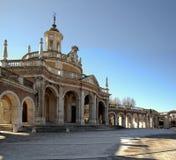 El palacio real Fotografía de archivo libre de regalías