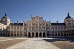 El palacio real Fotos de archivo libres de regalías
