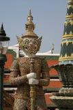 El palacio real y el templo magníficos de Emerald Buddha en Bangkok Fotografía de archivo libre de regalías