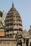El palacio real y el templo magníficos de Emerald Buddha en Bangkok Fotografía de archivo