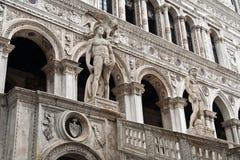 El palacio Venecia del dux Imágenes de archivo libres de regalías
