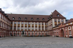 El palacio viejo de Bayreuth, Alemania, 2015 Imagen de archivo