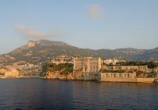 El palacio y el museo del mar, Tom Wurl de Mónaco Foto de archivo
