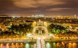 El Palais de Chaillot, el Trocadéro Imagen de archivo libre de regalías