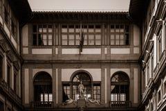 El Palazzo Vecchio, el ayuntamiento de Florencia, Italia Fotos de archivo libres de regalías