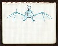 El palo 3, bosquejo 3d Imagen de archivo libre de regalías