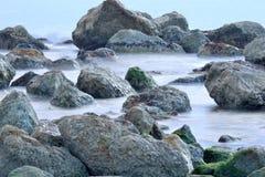 El palo del EL de la playa fotografía de archivo