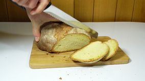 El pan almacen de metraje de vídeo