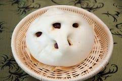 El pan cocido al vapor Imágenes de archivo libres de regalías