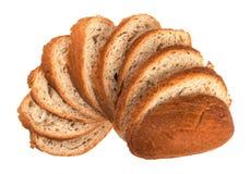 El pan cortado Fotos de archivo libres de regalías