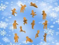 El pan de jengibre de la libertad es feliz Imagen de archivo libre de regalías