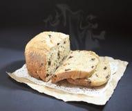 El pan resbalado Foto de archivo libre de regalías