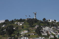 EL Panecillo, Quito Immagine Stock