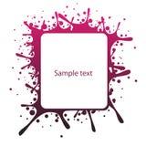 El panel abstracto del texto Fotos de archivo libres de regalías