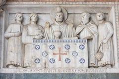 El panel adornado rico imagen de archivo